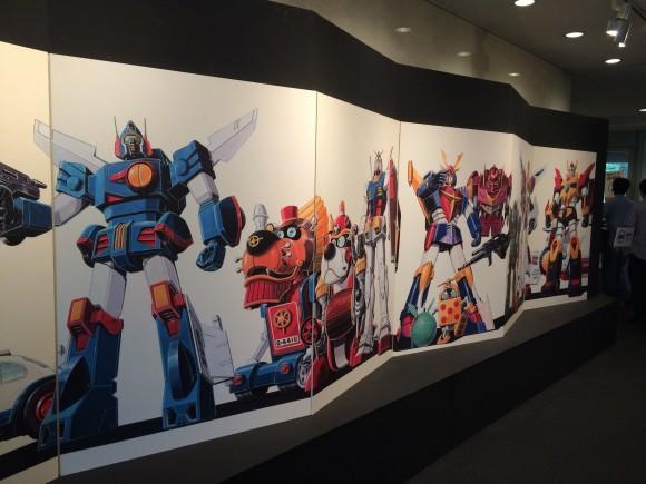 東京上野の森美術館で開催された大河原邦男展の感想と混雑状況など