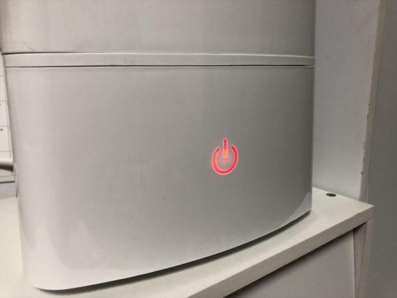 人気の加湿器PRESSE(プレッセ) HTJS-002を実際に使ってみた感想!超音波式のコスパ良しでちょうど良いスペックが魅力